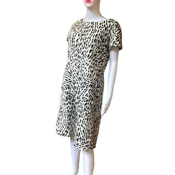 Rare Vintage 1960s Ben Reig Dress With Pockets