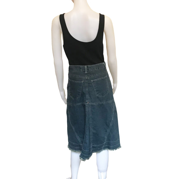 Vintage 1980s Gloria Vanderbilt Denim Skirt
