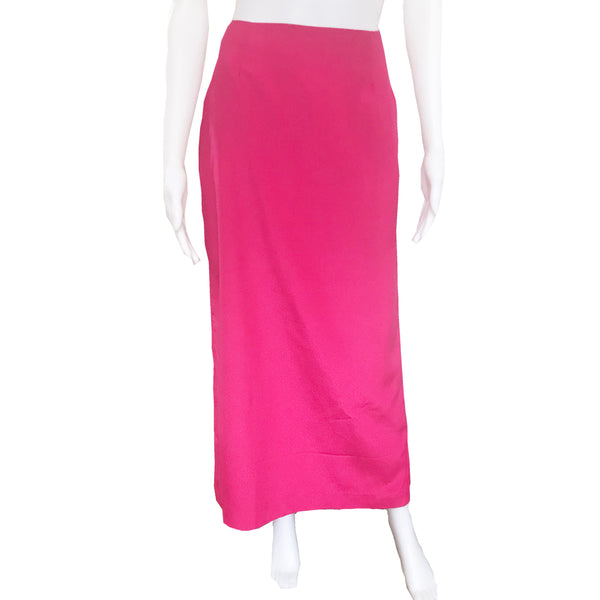 Vintage 1990s Barbie Pink Maxi Skirt & Top Set