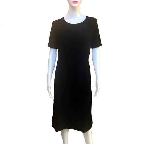 Vintage 1960s Kimberly Knits Little Black Dress