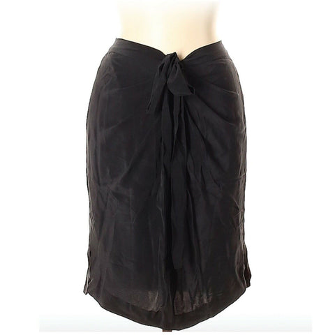 Robert Rodriguez Silk Skirt