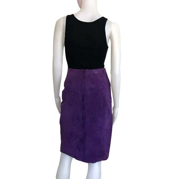 1980s SUEDE SKIRT