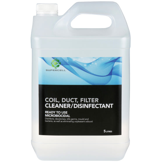 Supercell Coil Duct & Filter Disinfectant Cleaner 5L