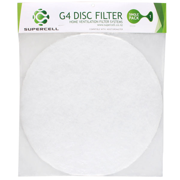 Ventilation Filter Moisture Master Compatible Supercell G4 Ventilation Disc filter-Disc Filter-supercellnz