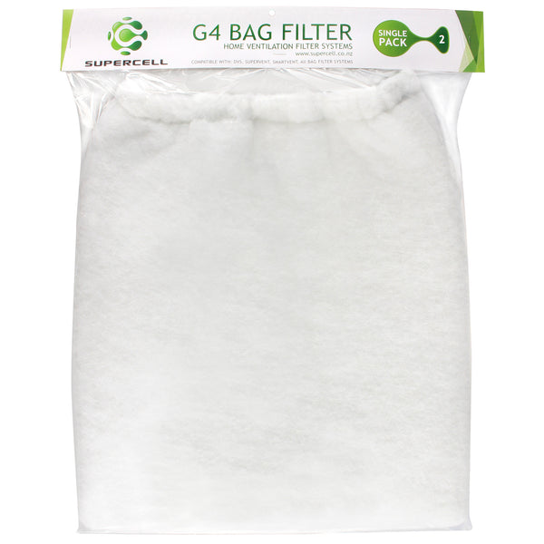 Ventilation Filter DVS Compatible Supercell G4 Ventilation Filter Bag Filter 2 pack - supercellnz