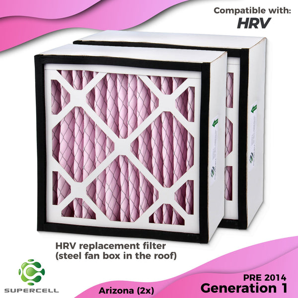 HRV FILTER x 2 Gen 1 Pre 2014 - supercellnz