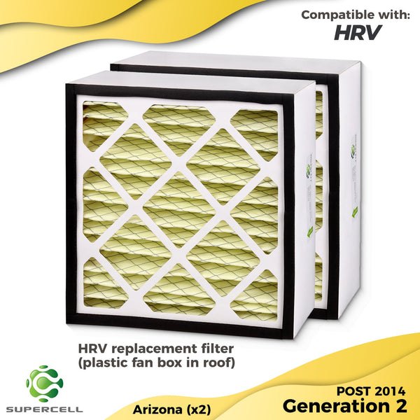 HRV filters ARIZONA  compatible 2x filters - supercellnz