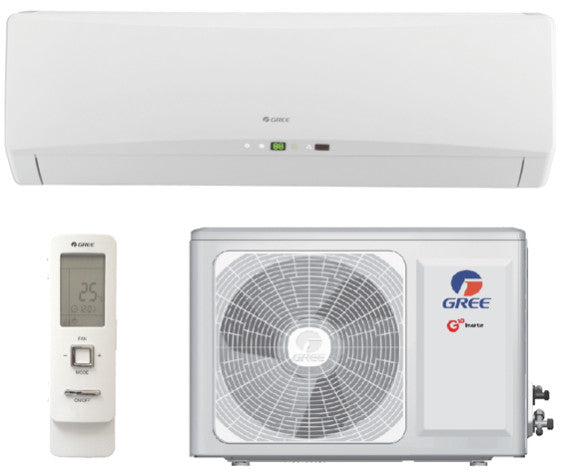 Healthy Home Pack: 2.5kw GREE Heat Pump, R 3.2 Realwool & Supervent 108m² - supercellnz