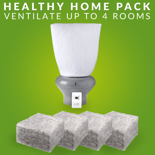 Healthy Home Pack R 3.2 Realwool & Supervent™ventilation system 108m² - supercellnz