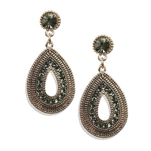 Flare Earrings-Olive