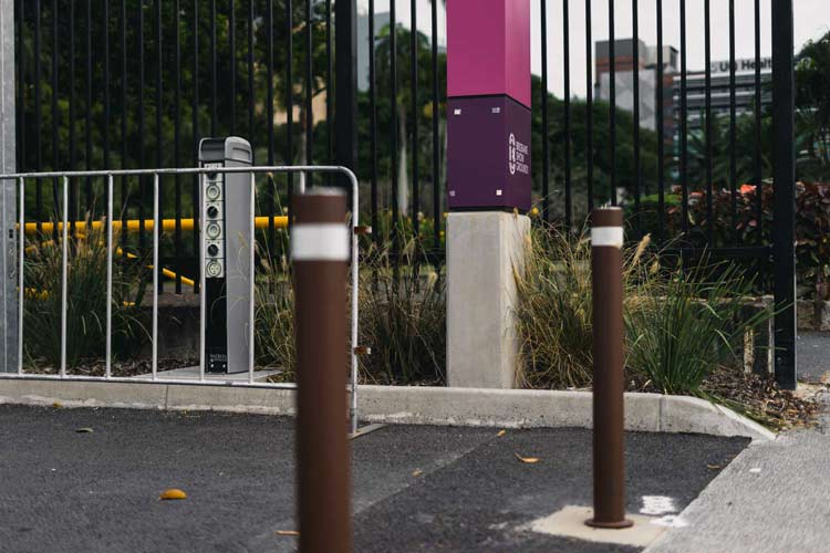 RNA Brisbane Showgrounds - Removable Bollards Install