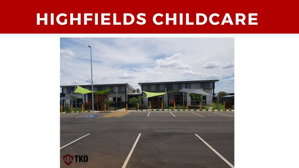 Childcare Bollards and Wheel Stops