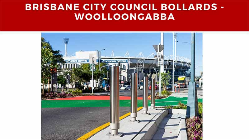 brisbane city council bollards