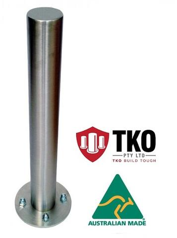 Stainless Steel Bollards Brisbane TKO Bollards