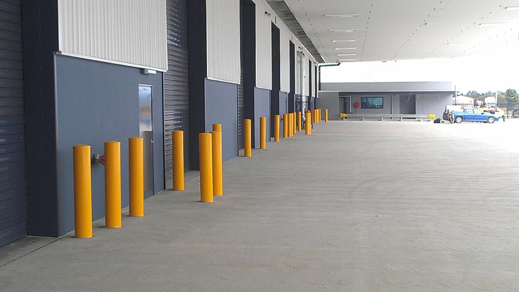 K Mart Distribution Centre Bollards