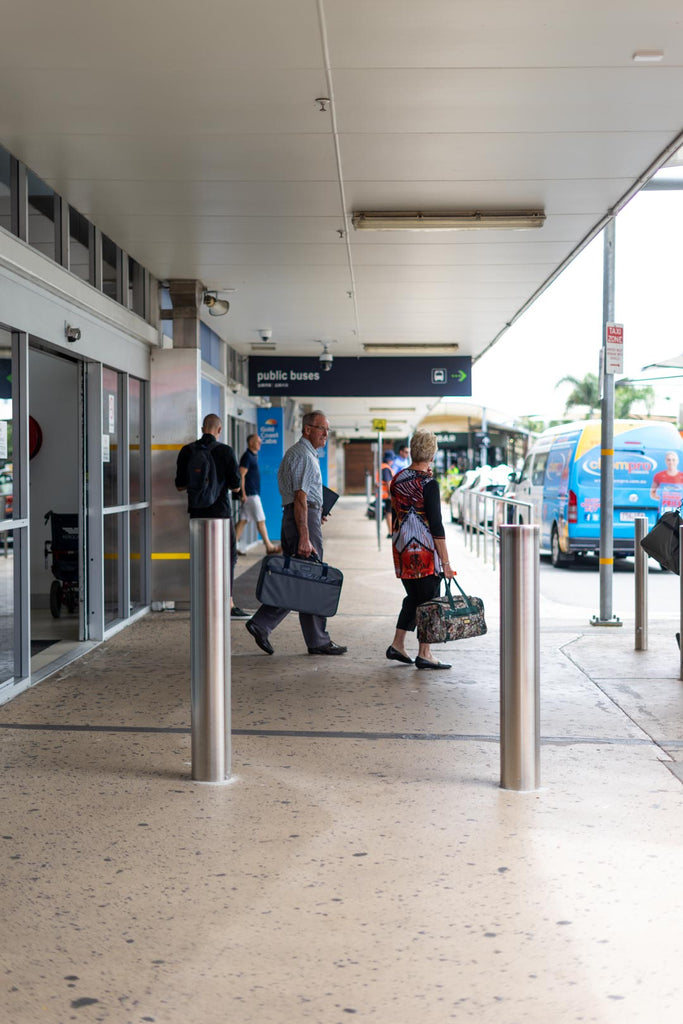 gold coast airport bollards