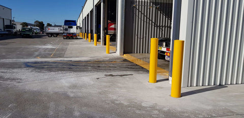 Penske Power Systems Australia - Sydney Bollards