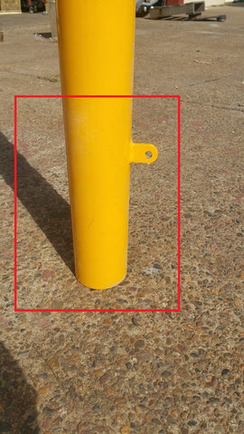what bollard is right for you - in ground bollard