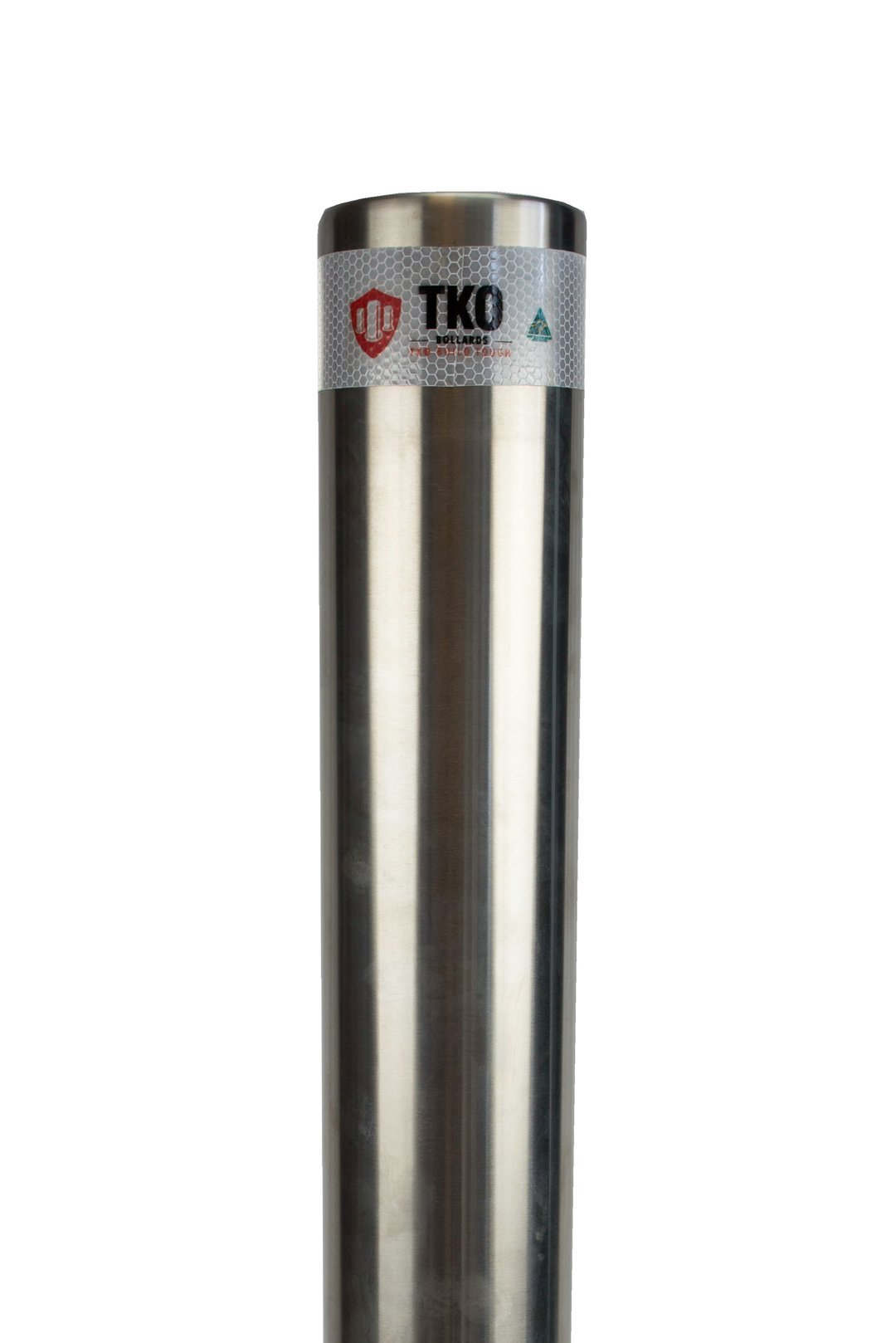114 OD/MM In-Ground Stainless Steel Bollard - Brisbane bollards
