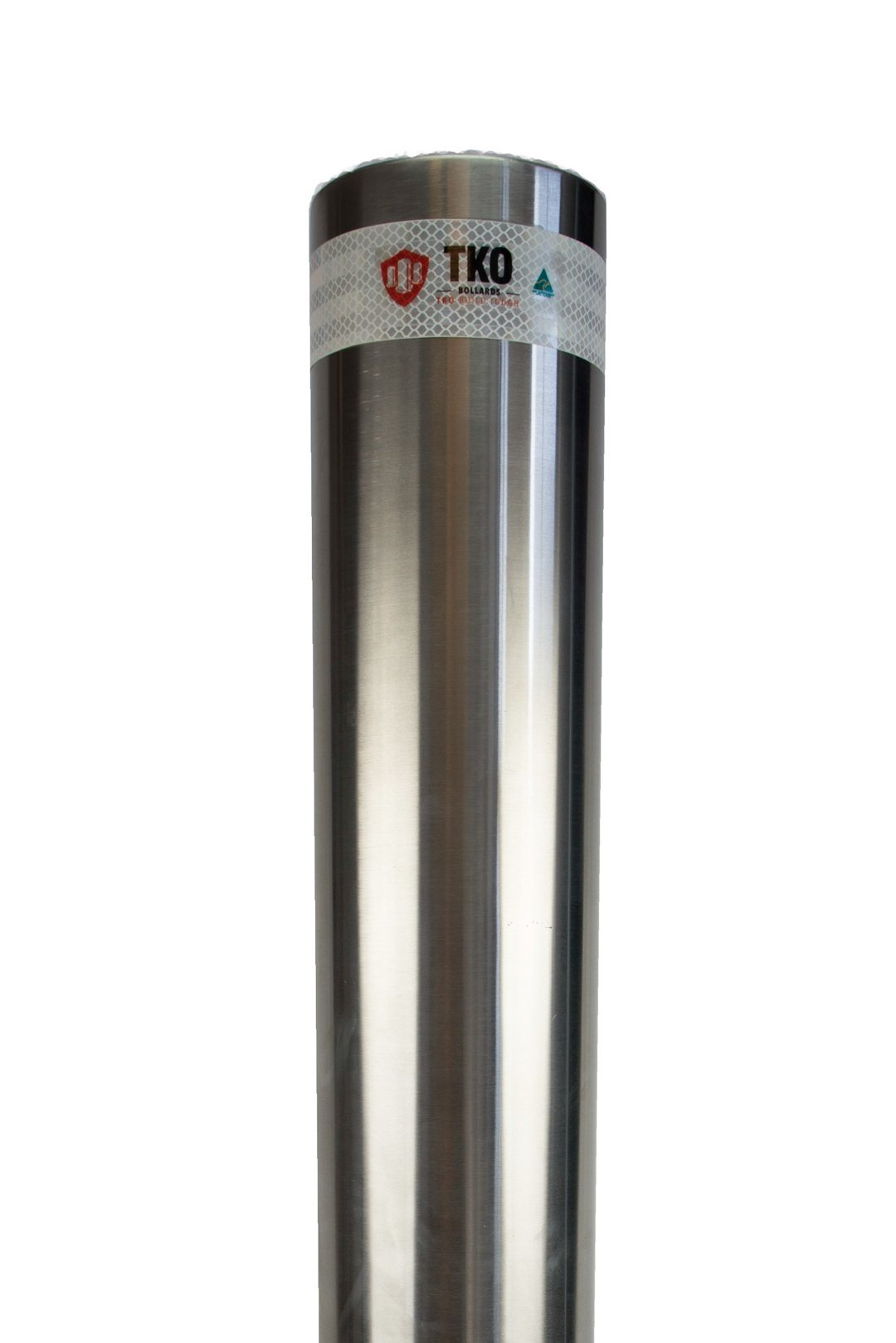 140 OD/MM In-Ground Stainless Steel Bollard - Brisbane bollards