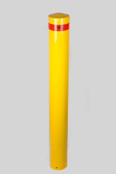 165 OD/MM In-Ground Powder Coated Bollard - Brisbane bollards