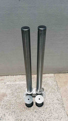 90 OD/MM Stainless Steel In-Ground Removable Bollard - Brisbane bollards