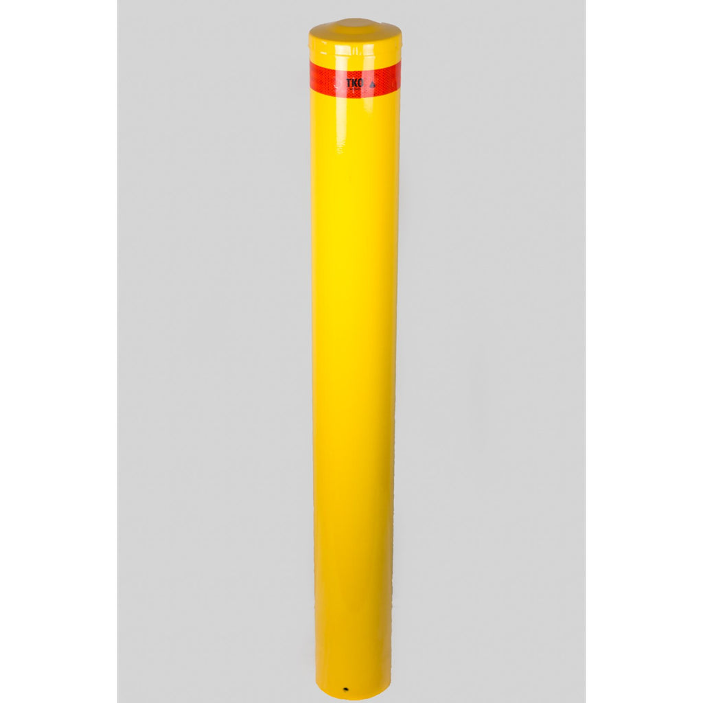 220 OD/MM Powder Coated In-Ground Bollard 1800mm - Brisbane bollards