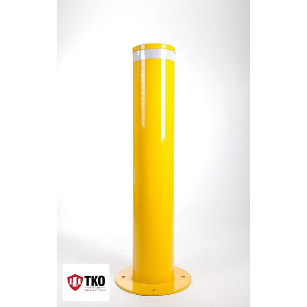 220 OD/MM Surface Mounted - Powder Coated Bollard - Brisbane bollards