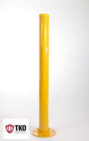 90 OD/MM Powder Coated - Surface Mounted Bollard - Brisbane bollards