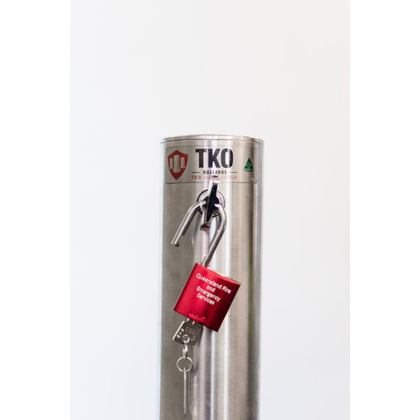 Fire Safety Removable Bollard