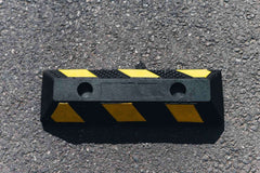 Small Rubber Wheel Stop | 500MM - Brisbane bollards