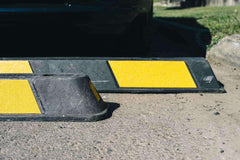 Premium Rubber Wheel Stop | 2000mm Length | 3 Year Warranty - Brisbane bollards