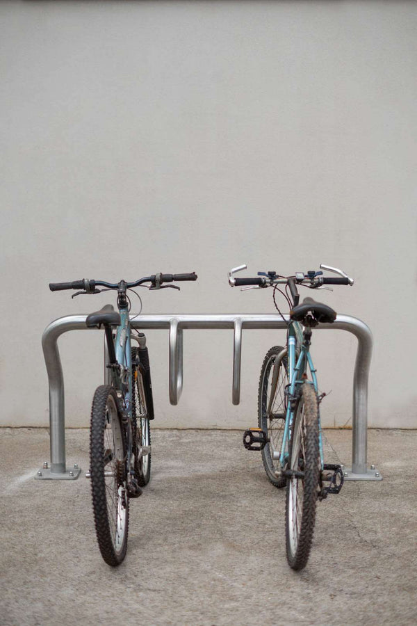 BSD-5052 Brisbane City Council Stainless Steel Multi Bike Rack - Brisbane bollards