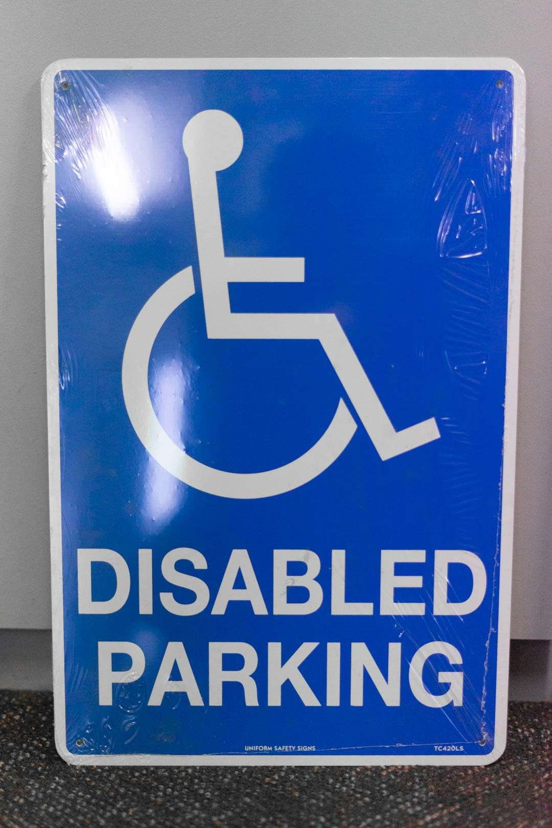 Disabled Parking Safety Sign