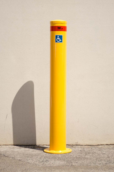 140MM Disabled Car Park - Surface Mounted Bollard