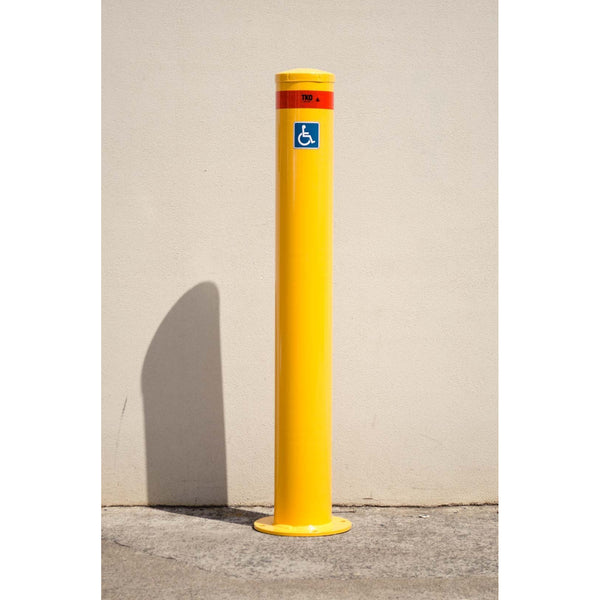 165MM Disabled Car Park - Surface Mounted Bollard
