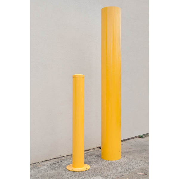 273 OD/MM Powder Coated In-Ground Bollard - Brisbane bollards