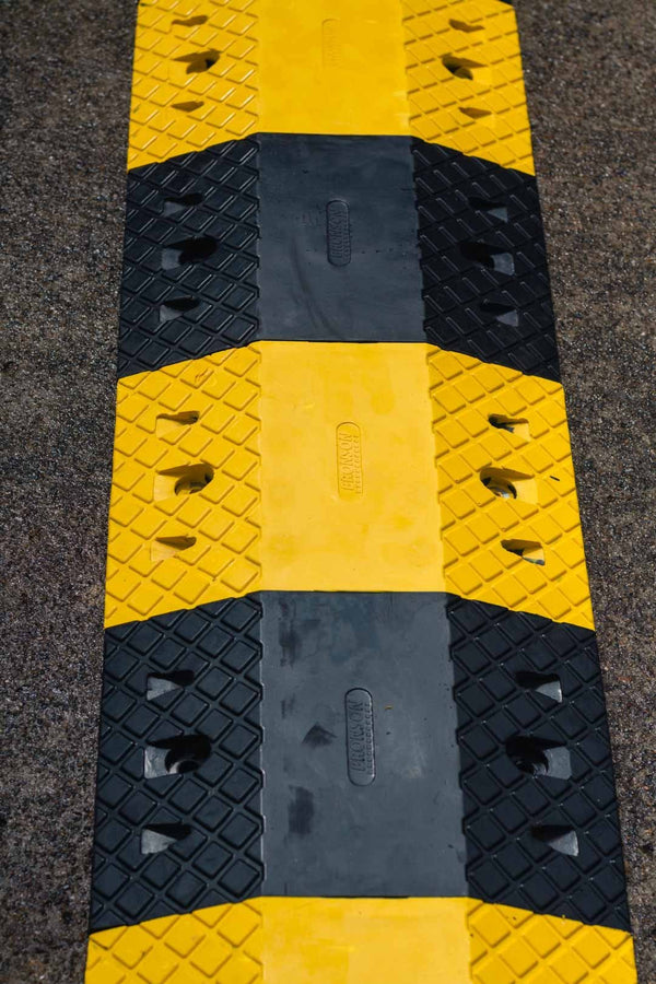 Rubber Speed Hump - Brisbane bollards