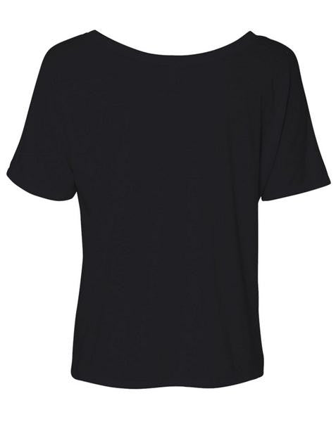 THE SUZANNE TEE (black)