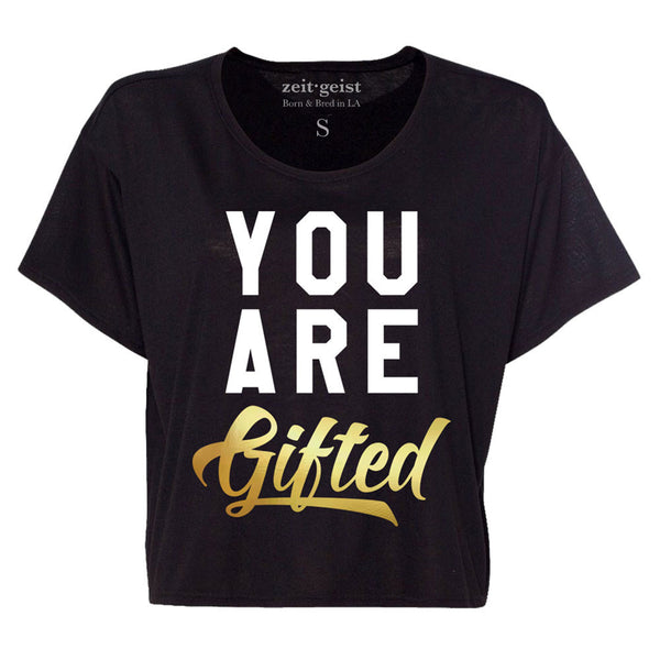ZEITGEIST x CHILDREN'S ACTION NETWORK CROP TOP