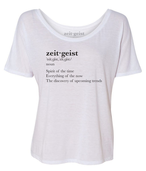 THE SUZANNE TEE (white)