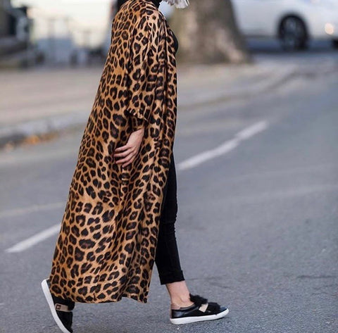 Abaya, Leopard - NEW COLOR