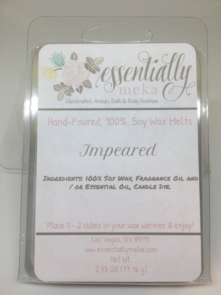 Impeared Wax Melt, Wax Melt, Essentially Meka Bath & Body Boutique