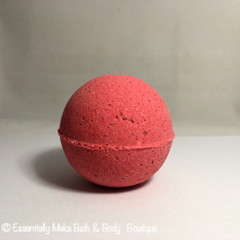 Red Berry Tea Bath Bomb, Bath Bomb, Essentially Meka Bath & Body Boutique