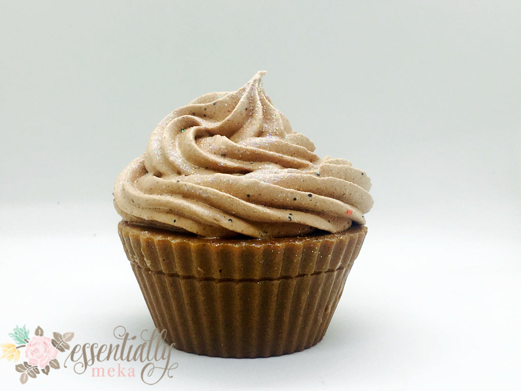 Whipped Custard Soap Cupcake, Artisan Soap, Essentially Meka Bath & Body Boutique