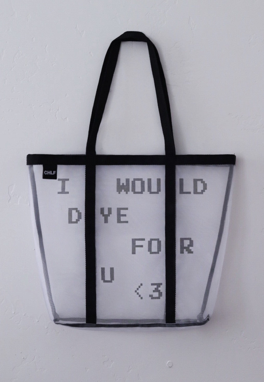 I WOULD DYE FOR YOU tote bag