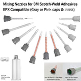 3M EPX Mixing Nozzles, for Scotch-Weld 50ml, 45ml adhesive cartridges