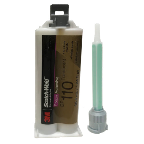 3M Scotch-Weld DP-110 Flexible Temp Resistant 10-Minute Set Plastic & Metal Epoxy