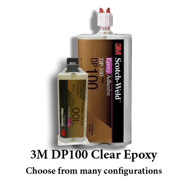 3M Scotch-Weld DP100 Clear 3-5 Minute Fast Set Epoxy
