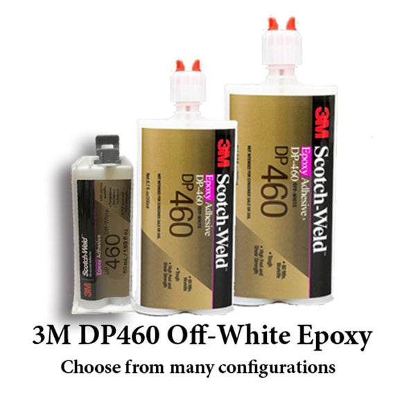 3M ScotchWeld DP460 Off-White 60-Minute Toughened Epoxy Adhesive Product Family